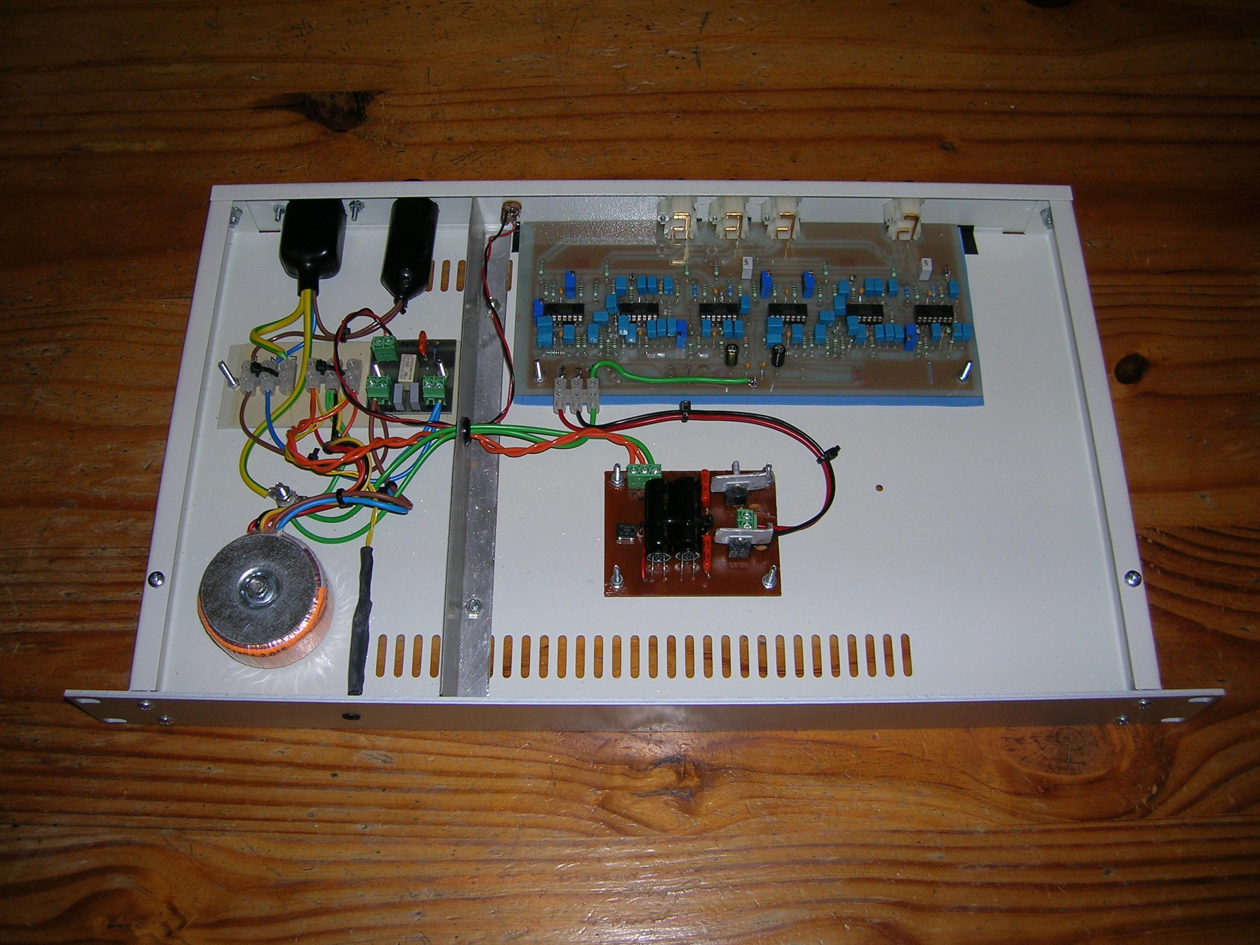 Three Way Active Crossover David Adams Circuit Diagram Inside Of