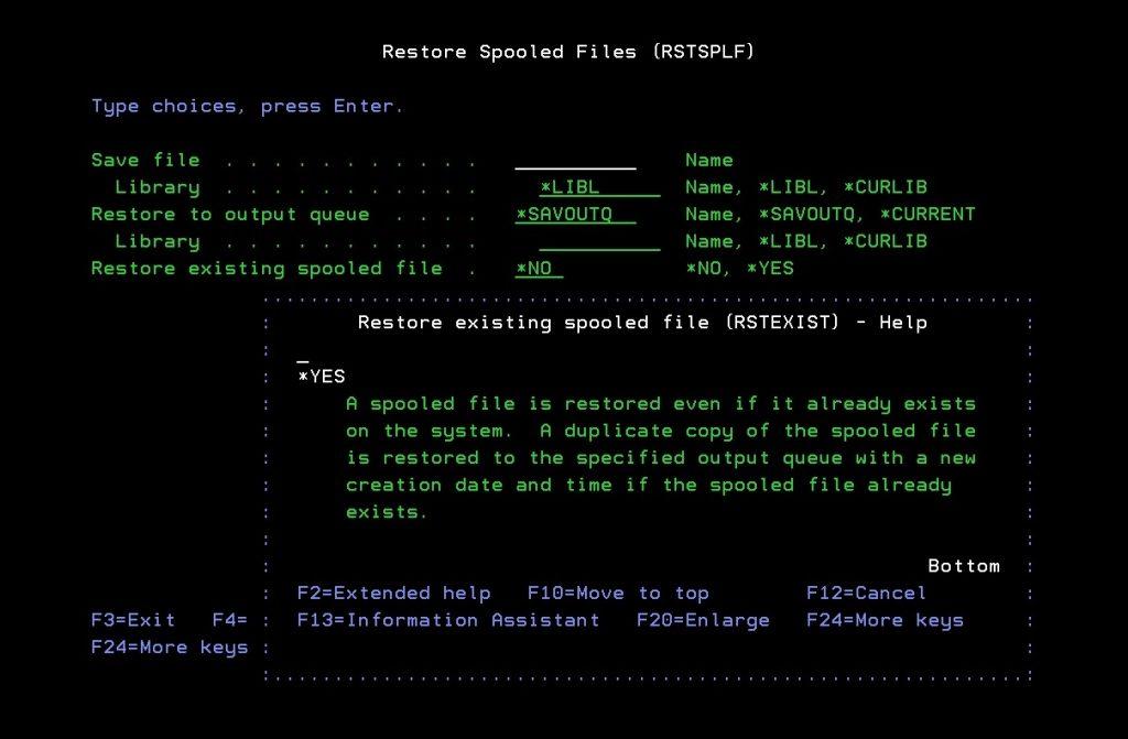 RSTSPLF screen