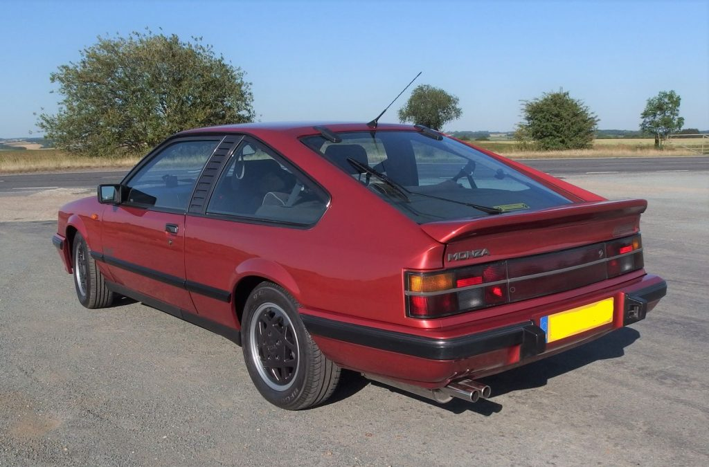 Opel Monza GSE at Hadstock